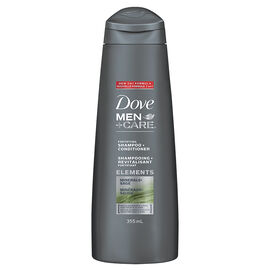 Dove Men+Care Elements Minerals+Sage Shampoo & Conditioner - 355ml