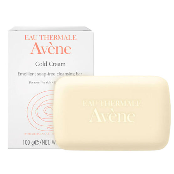 Avene Emollient Soap-Free Cleansing Bar - 100g
