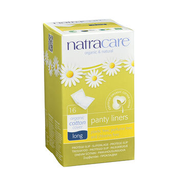Natracare Panty Liners - Long - 16's