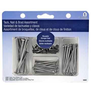 Helping Hand Tacks Nails Brads - Silver