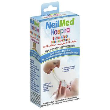NeilMed Naspira Nasal-Oral Aspirator for Babies & Kids