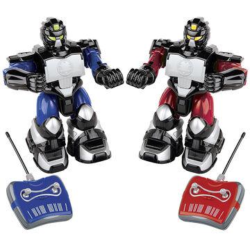 Blue Hat Remote Control Fighting Robots V2