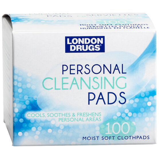 London Drugs Personal Cleansing Pads - 100's