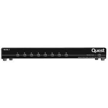 Quest 8 Pair Speaker Switch - Black - QLS8.1