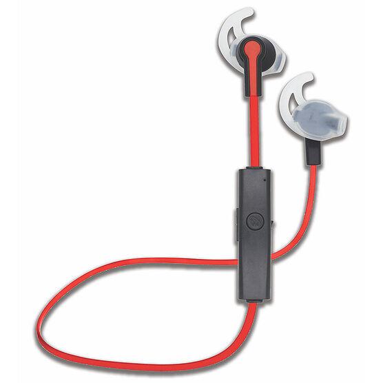 escape sport bluetooth earbuds red black bt041. Black Bedroom Furniture Sets. Home Design Ideas