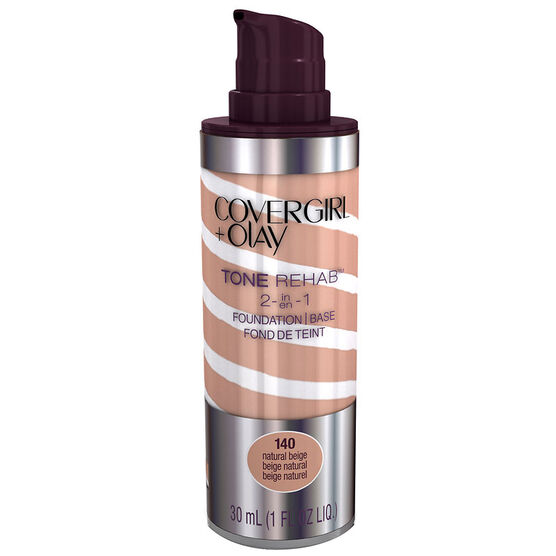 CoverGirl & Olay Tone Rehab 2-in-1 Foundation - Natural Beige