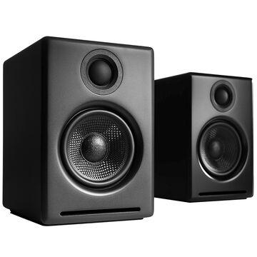 Audioengine A2+ Premium Powered Desktop Speakers - Black - A2+B