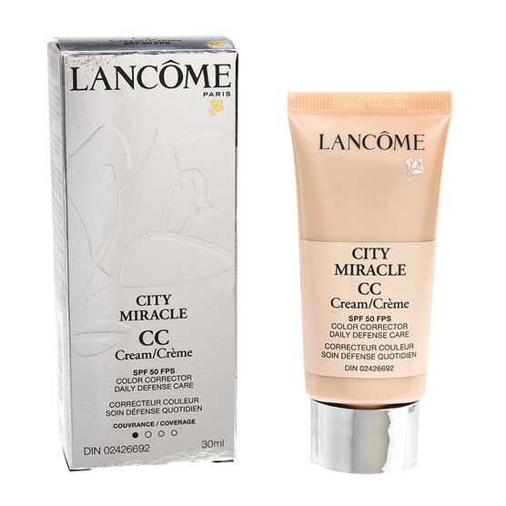 Lancome City Miracle CC Cream - 02 Peau de Peche