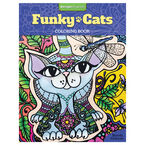 Funky Cats Colouring Book