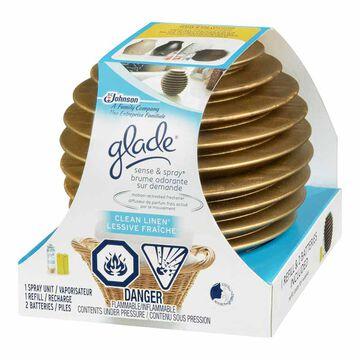 Glade Sense & Spray Holder - Clean Linen