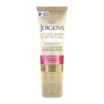 Jergens Natural Glow +Nourish Daily Moisturizer - Fair to Medium - 220ml