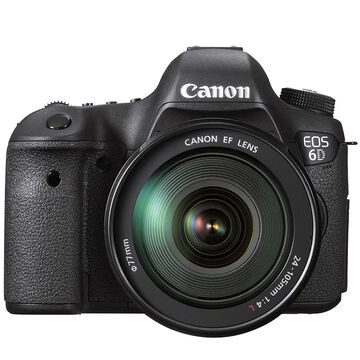 Canon EOS 6D with 24-105mm Lens - Black