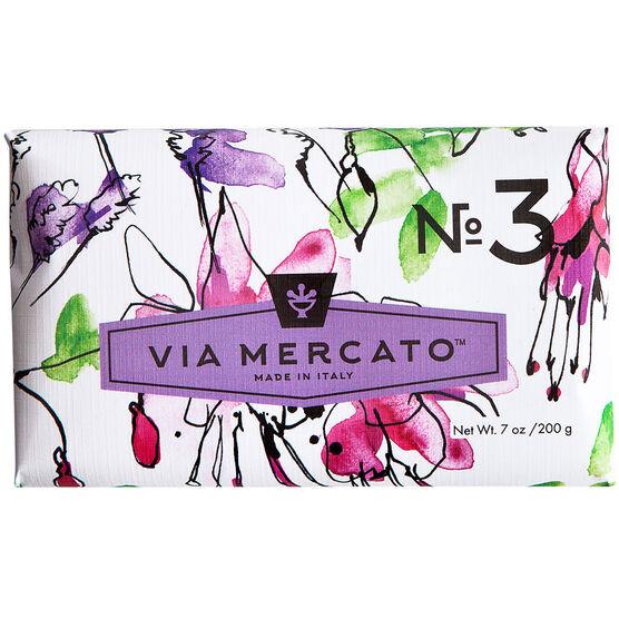 Via Mercato Soap - Pepe Rosa Lavender & Vanilla Bean - 200g