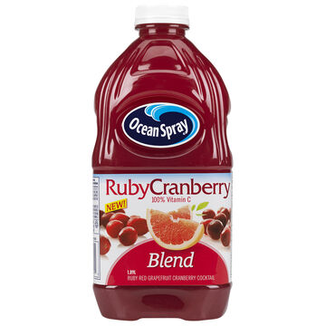 Ocean Spray Cocktail Juice - Ruby Cranberry - 1.89L
