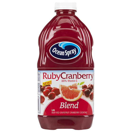 Ocean Spray Cocktail Juice - Ruby Cranberry - 1.89L