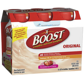 Boost Drink - Strawberry - 6 x 237ml
