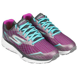 Skechers Ladies GoRun Forza 2 Athletic Shoes - Charcoal Purple