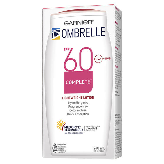 Ombrelle Complete Sunscreen Lotion - SPF 60 - 240ml