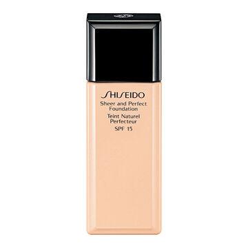 Shiseido Sheer and Perfect Foundation - O20 Natural Light Ochre