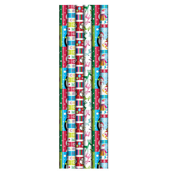 Plus Mark Merrybright Gift Wrap - 40x324in - 083933LDT - Assorted