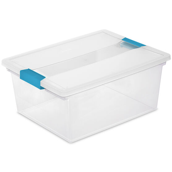 Sterilite Deep Clip Box - Clear