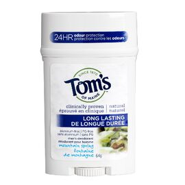 Tom's of Maine Long Lasting Men's Deodorant Stick - Mountain Spring - 64 g