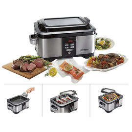 Hamilton Beach Professional Slow Cooker with Sous Vide - Stainless/Black - 33970