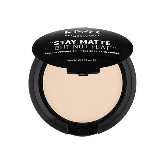 NYX Professional Makeup Stay Matte But Not Flat Powder Foundation - Ivory