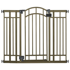 Summer Infant Deco Extra Tall Walk-Thru Gate - Bronze