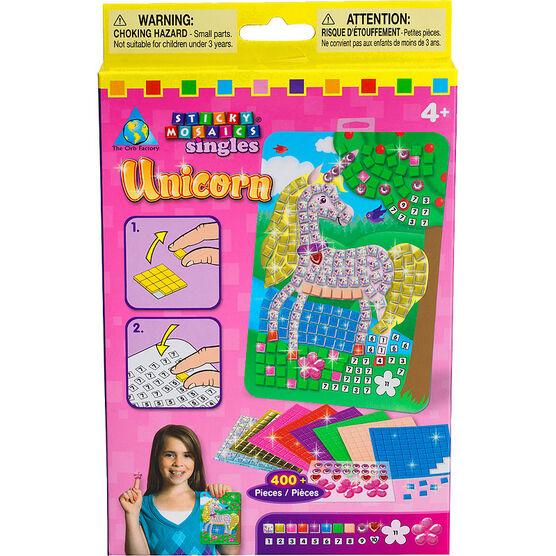 Sticky Mosaics Singles Kit - Assorted