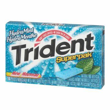 Trident Superpak - HydraMint - 14 pieces