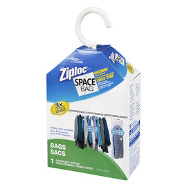 Ziploc Space Bag Hanging Bag - 1 Piece