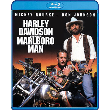 Harley Davidson and the Marlboro Man - Blu-ray