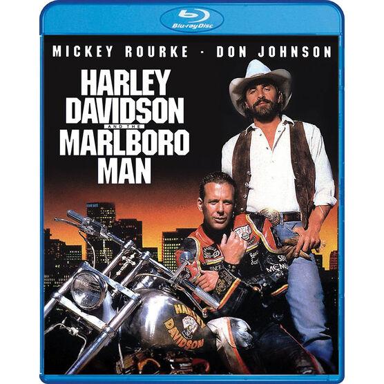 Harley Davidson and the Marlboro Man - Blu-ray