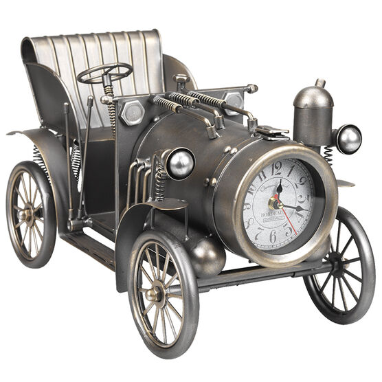 London Drugs Metal Classic Car Desk Clock - Antique