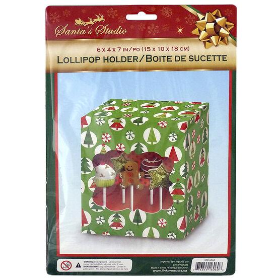 Christmas Window Lollipop Holder