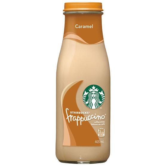 Starbucks Frappuccino Coffee Drink - Caramel - 405ml