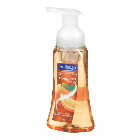 Softsoap Pampered Hands Foaming Hand Soap - Tangerine Treat - 236ml