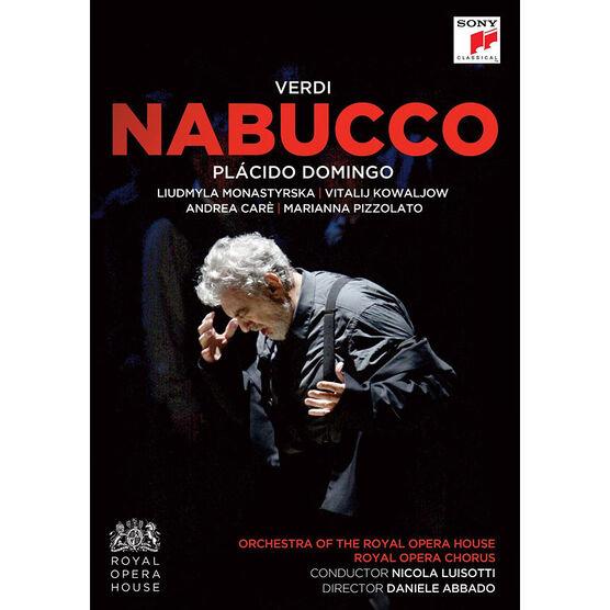 Placido Domingo - Verdi: Nabucco - DVD