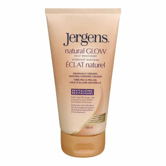 Jergens Natural Glow Moisturizer - Fair Skin Tones - 150ml