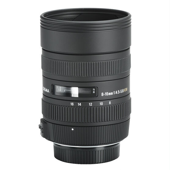 Sigma DC 8-16mm f4.5-5.6 HSM lens for Nikon