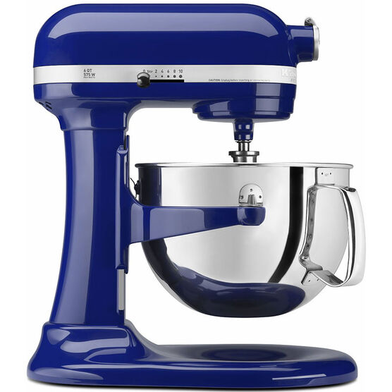 KitchenAid Pro 600 Series 6 quart Stand Mixer - Cobalt Blue - KP26M1XBU