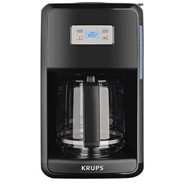 Krups Savoy Core Coffee Maker - Black - 12 Cup
