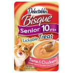 Delectables Bisque Seniors Lickable Treat - Tuna and Chicken - 40g