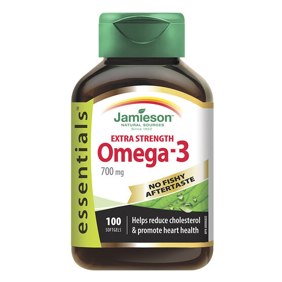 Jamieson Extra Strength Omega-3 - 700 mg - 100's