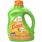Gain Liquid HE Liquid Laundry Detergent - Sunshine - 2.95L/48 use