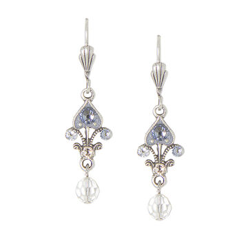 Anne Koplik Small Queen of Hearts with Drop Earrings