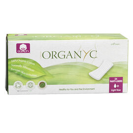 Organyc Panty-Liners - Light - 24's