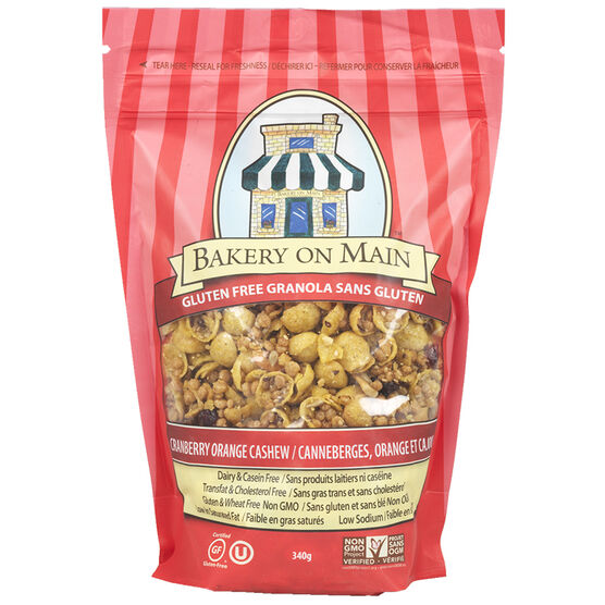 Bakery On Main Granola - Cranberry/Orange - 310g