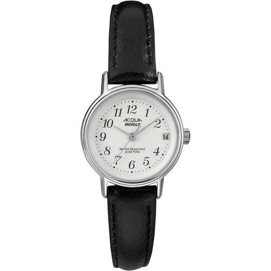 Timex Acqua Women's Quartz Analogue Watch - White/Black - A3C74170